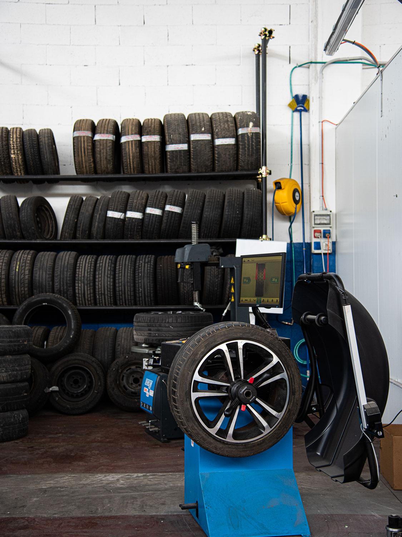 Servizio deposito pneumatici Cuneo